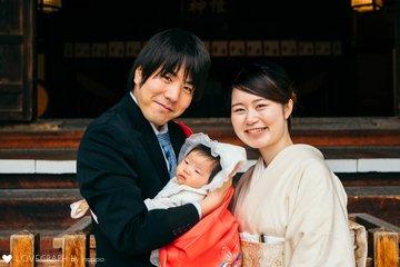 お宮参り&お食い初め | 家族写真(ファミリーフォト)