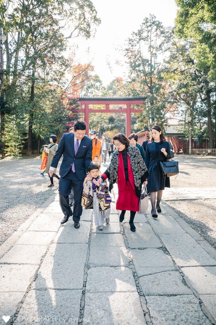 Hikaru with family | 家族写真(ファミリーフォト)
