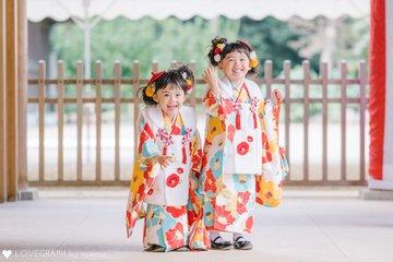 twins family | 家族写真(ファミリーフォト)