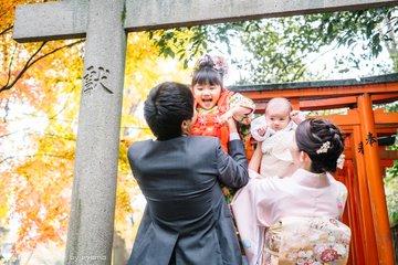 はな七五三&はるお宮参り | 家族写真(ファミリーフォト)