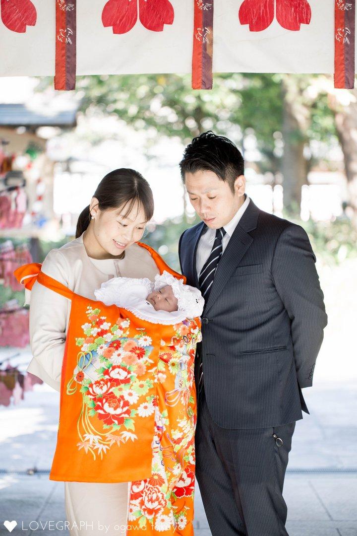 10.29☆mao初宮参り☆ | 家族写真(ファミリーフォト)