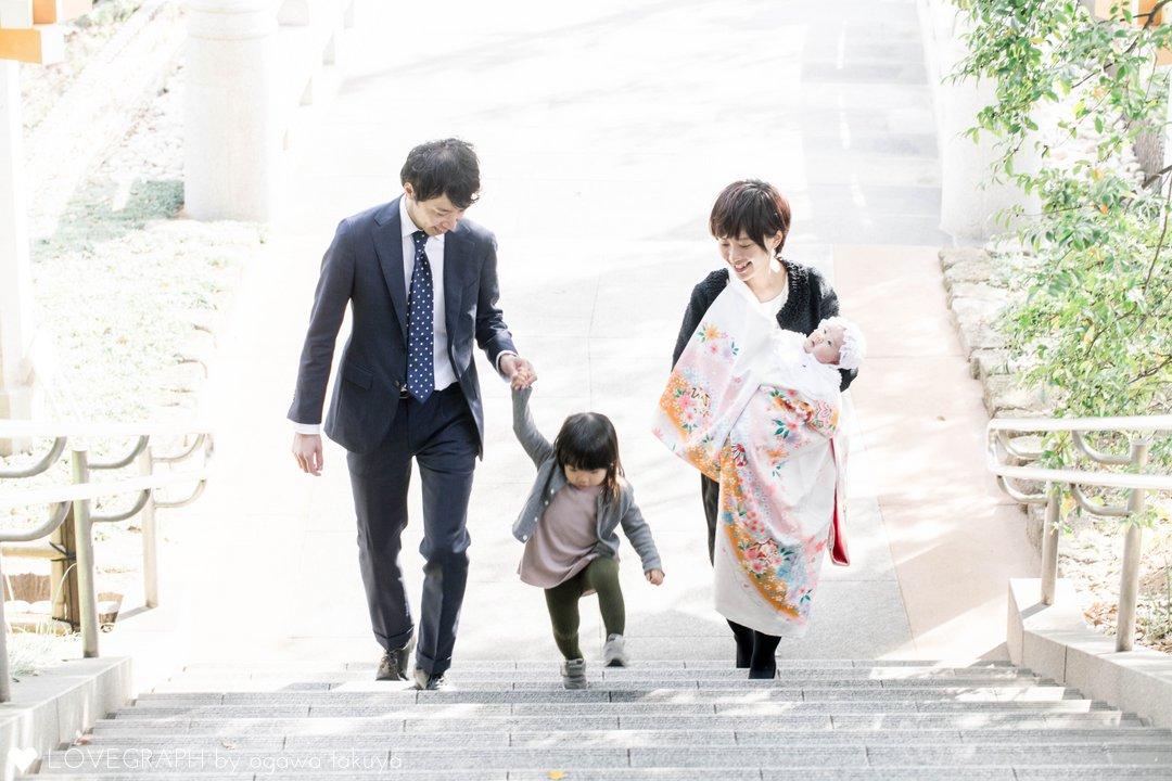 Akari お宮参り | 家族写真(ファミリーフォト)