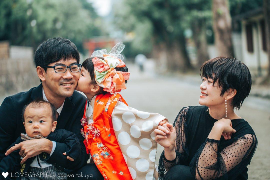 shiho&hisa | 家族写真(ファミリーフォト)