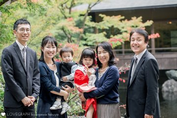 Nakajima Family   家族写真(ファミリーフォト)