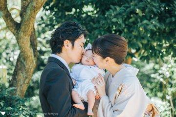 れな お宮参り | 家族写真(ファミリーフォト)