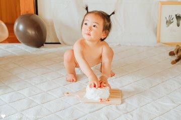 ことは1歳誕生日 | 家族写真(ファミリーフォト)
