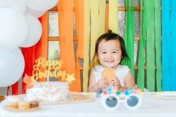 つむぎ2歳誕生日☺︎ | 家族写真(ファミリーフォト)
