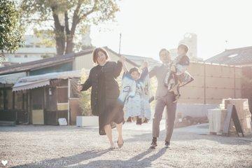 asahi×touma 七五三 | 家族写真(ファミリーフォト)