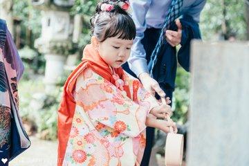 りく×ふうか 七五三 | 家族写真(ファミリーフォト)