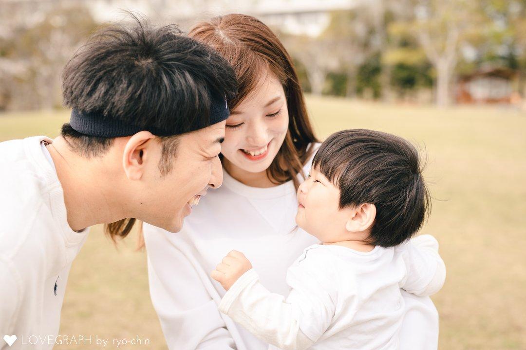 るい1歳誕生日   家族写真(ファミリーフォト)