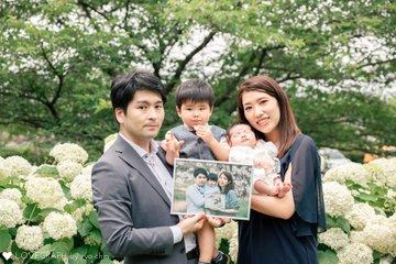 Maruyama Family Jin お宮参り | 家族写真(ファミリーフォト)