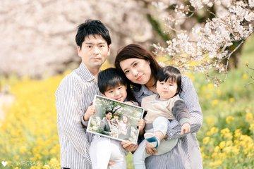Maruyama Family 桜Photo | 家族写真(ファミリーフォト)