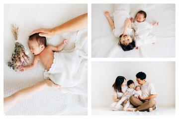 Hono new born photo | 家族写真(ファミリーフォト)