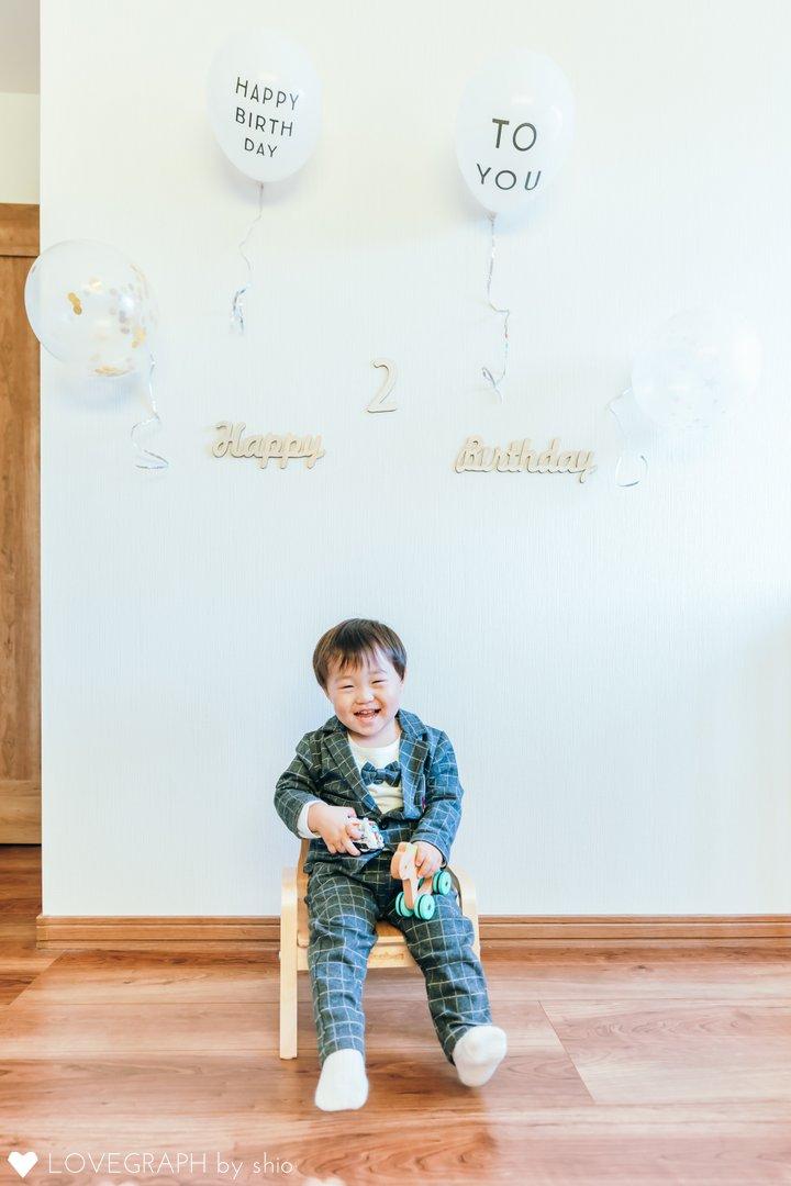 そうま2歳誕生日   家族写真(ファミリーフォト)