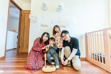 そうま2歳誕生日 | 家族写真(ファミリーフォト)