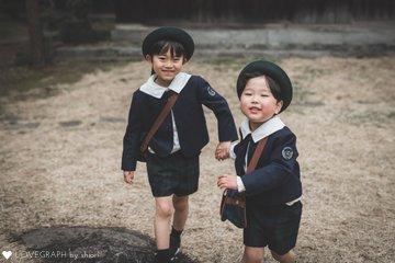 M family 卒園入学記念 | 家族写真(ファミリーフォト)