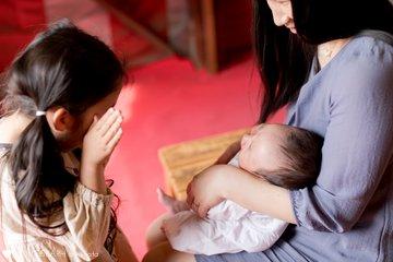 はる*初宮詣 | 家族写真(ファミリーフォト)