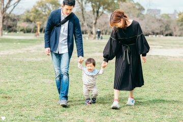 しん1歳誕生日 | 家族写真(ファミリーフォト)