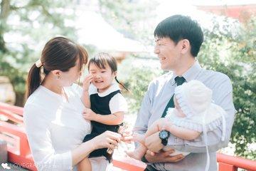 りっくんお宮参り | 家族写真(ファミリーフォト)
