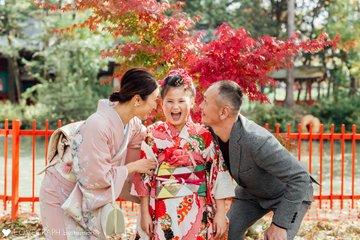 Kokomi 7歳 七五三 | 家族写真(ファミリーフォト)
