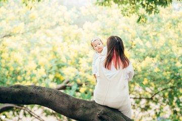 mimosa family | 家族写真(ファミリーフォト)