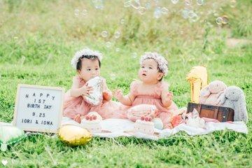 Happy 1st birthday♡ | 家族写真(ファミリーフォト)