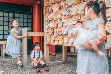 rena omiyamairi   家族写真(ファミリーフォト)