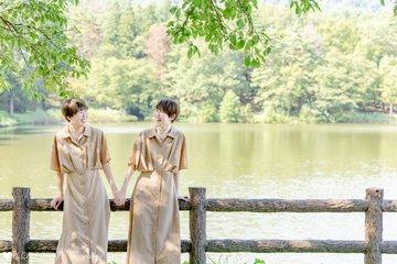 N&K Twin sisters | 家族写真(ファミリーフォト)