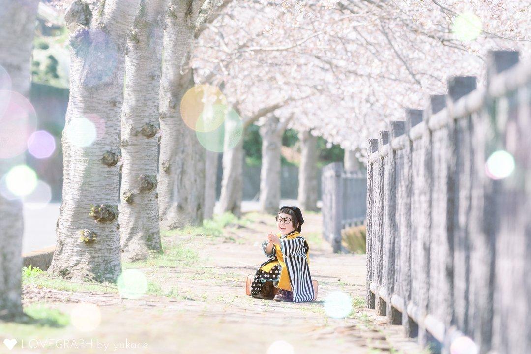 Subaru 七五三 Aika お宮参り | 家族写真(ファミリーフォト)