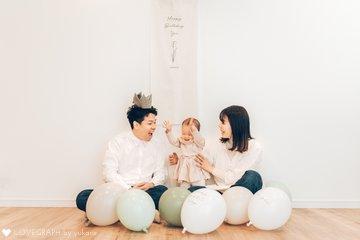 Yu 1st Birthday | 家族写真(ファミリーフォト)