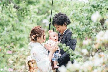 ☆Sora お宮参り☆ | 家族写真(ファミリーフォト)