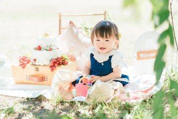 Kotoha 1st Birthday | 家族写真(ファミリーフォト)