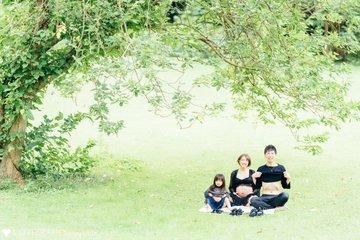 もうすぐ4人家族☺︎ | 家族写真(ファミリーフォト)