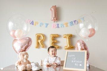 Rei 1st Birthday | 家族写真(ファミリーフォト)