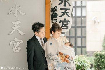 伶弥お宮参り | 家族写真(ファミリーフォト)