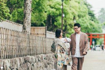 shrine visit for Yusei   家族写真(ファミリーフォト)