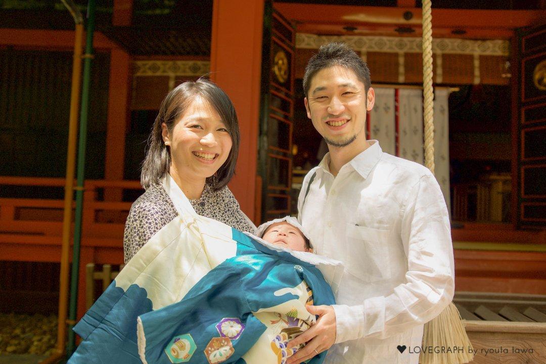 Kohei × Marika   家族写真(ファミリーフォト)