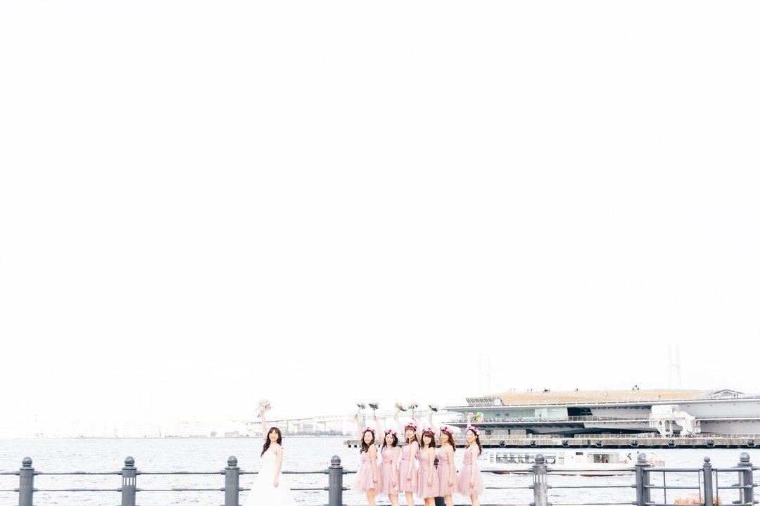 Ayako× bridesmaid   フレンドフォト(友達)