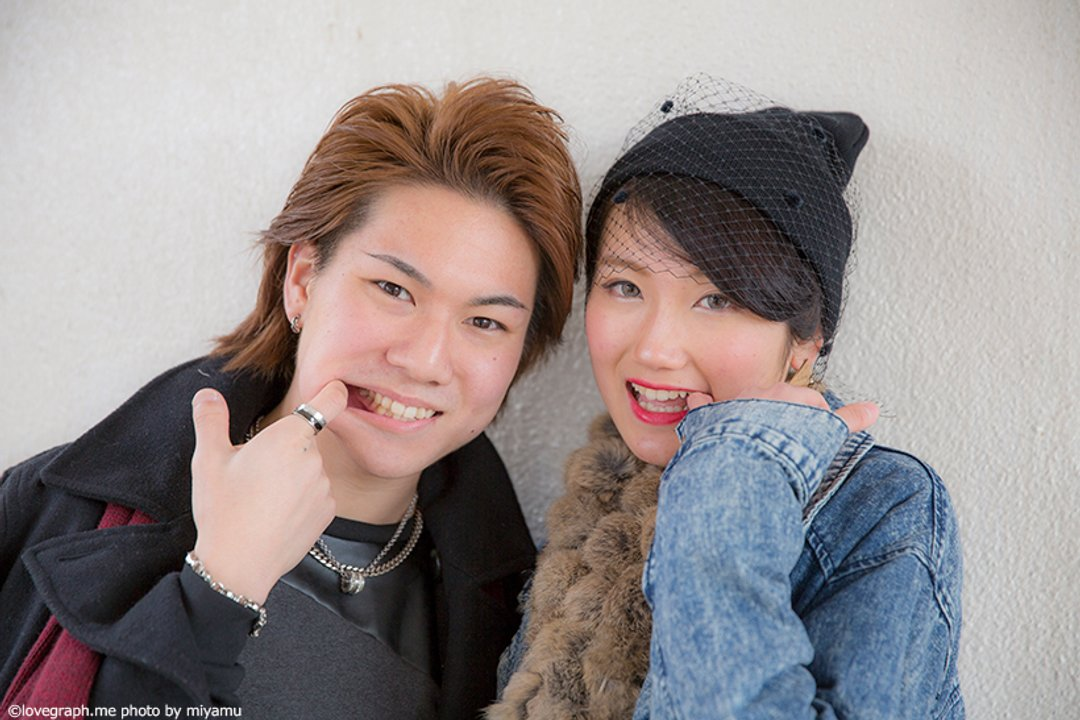 Hideto × Yukako   カップルフォト