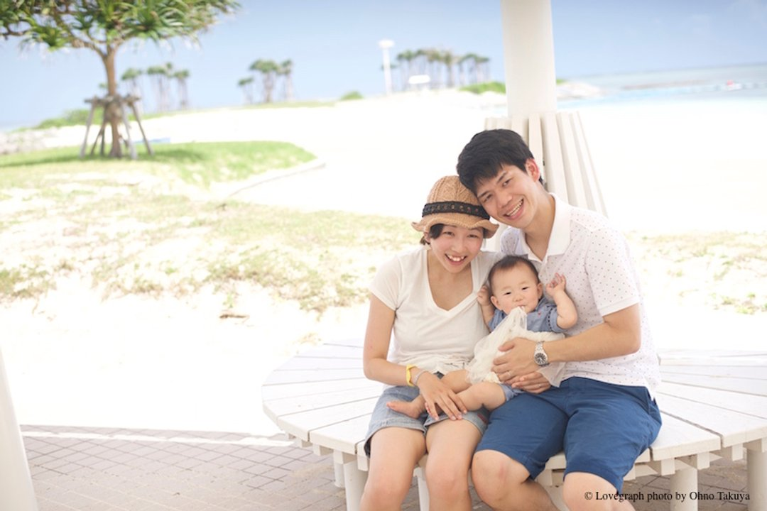 Hisashi × Saki × Shiho | 家族写真(ファミリーフォト)