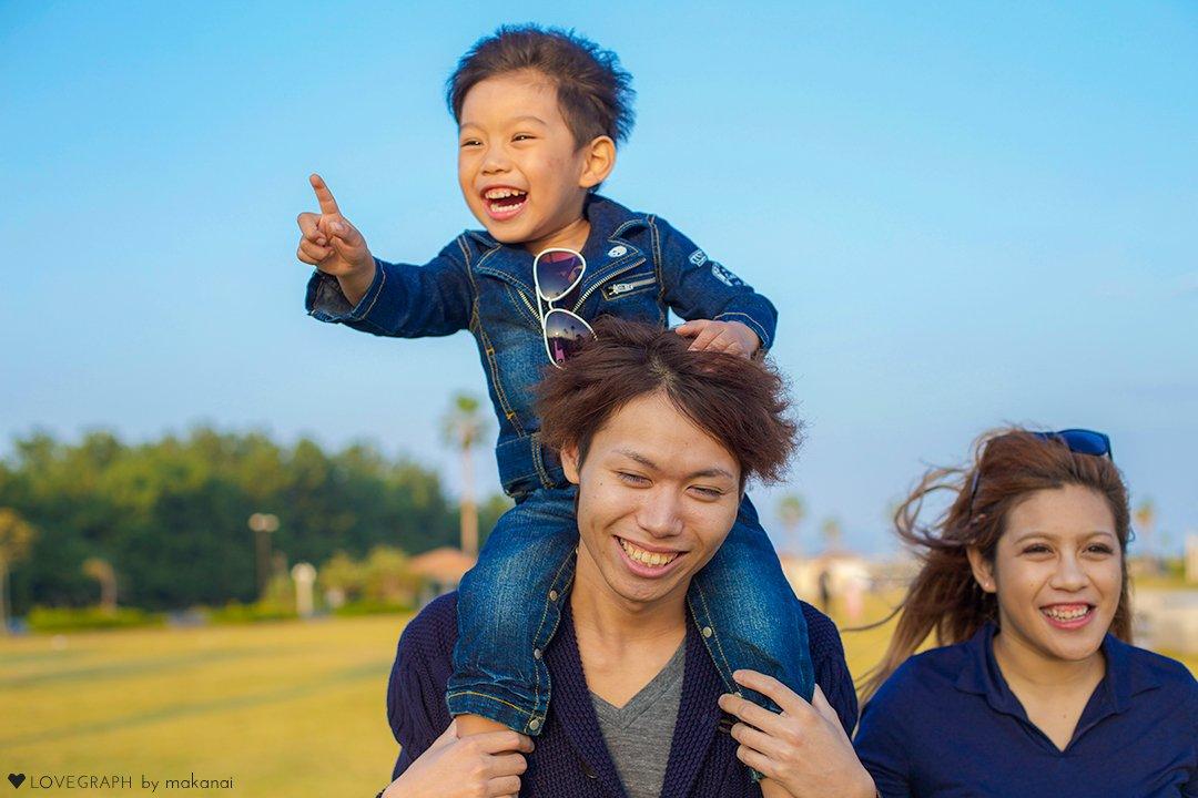 Hideaki × Harumi × Ayumu | 家族写真(ファミリーフォト)