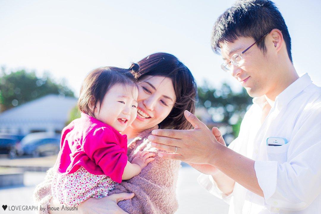 Tsuyoshi × Megumi | 家族写真(ファミリーフォト)