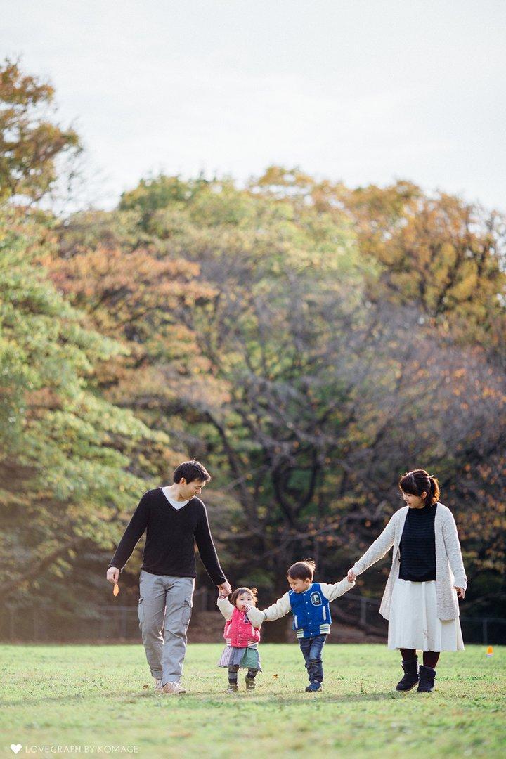 Koji × Reiko   家族写真(ファミリーフォト)