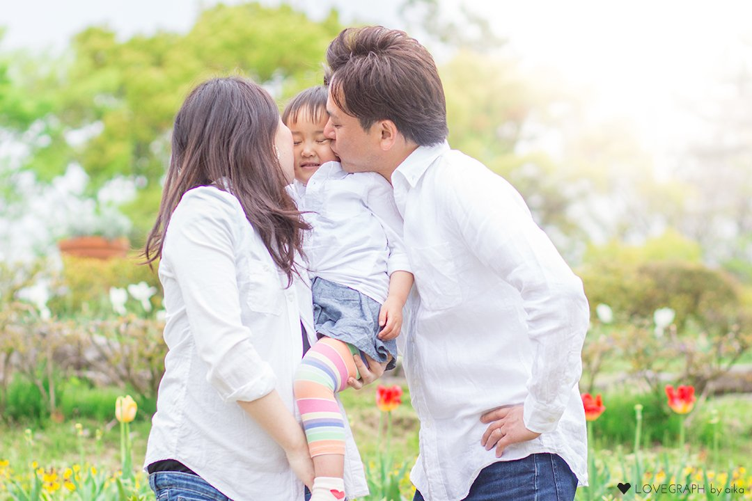 Kazue × Taku×Riri | 家族写真(ファミリーフォト)