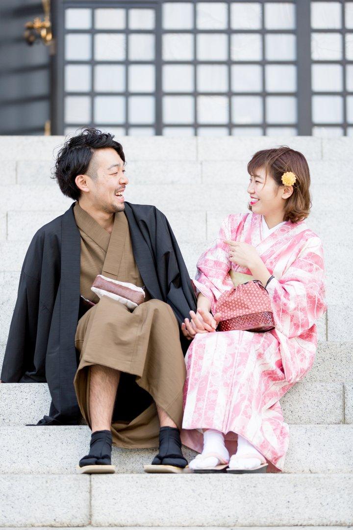 Yuna × Yuho   夫婦フォト