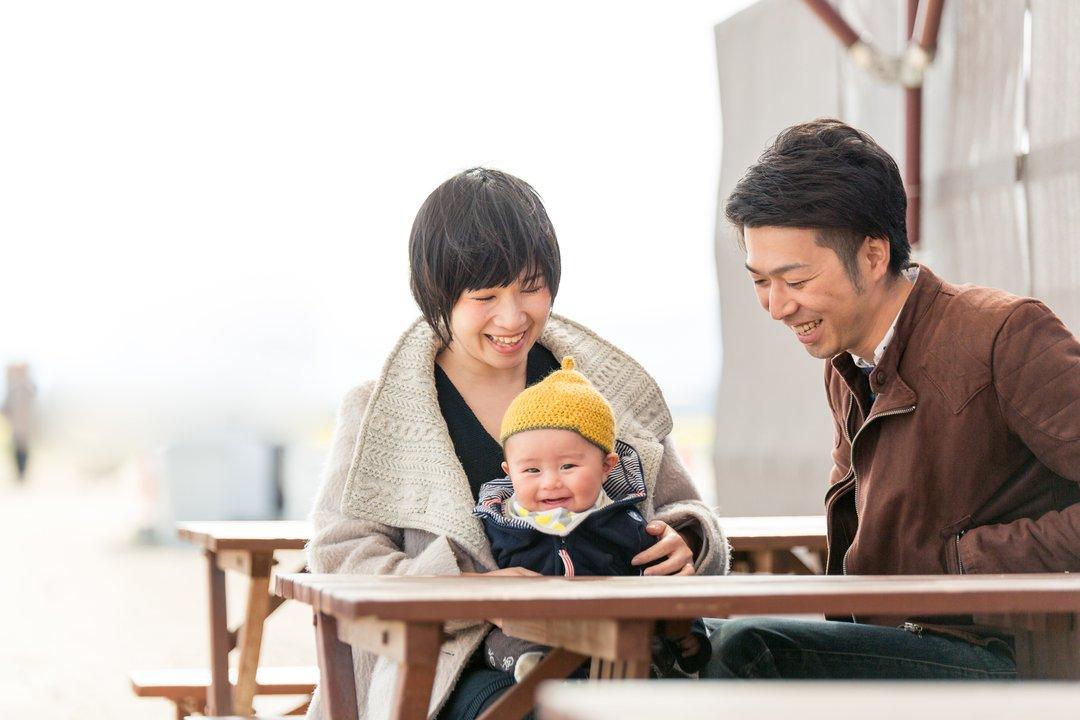 Maiko×Takashi×Minato   家族写真(ファミリーフォト)