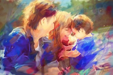 Takamichi × Ren × Arisa | 家族写真(ファミリーフォト)