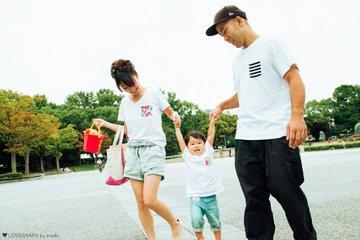 Norihisa × Hirari × Kirari | 家族写真(ファミリーフォト)